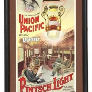 Pintsch Light Union Pacific Sign