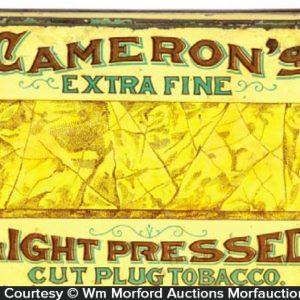 Cameron's Light Pressed Tobacco Tin