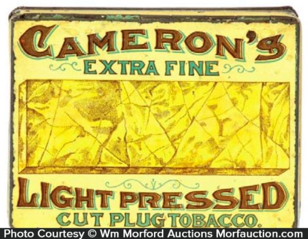 Cameron's Light Pressed Tobacco Tin