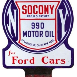 Socony 990 Oil For Fords Sign
