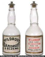 Wildroot Dandruff Bottles
