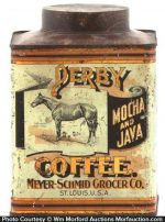 Derby Coffee Can