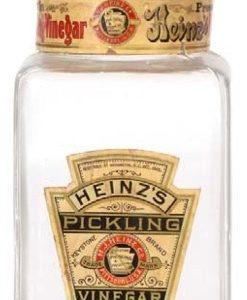 Heinz Pickling Vinegar Jar