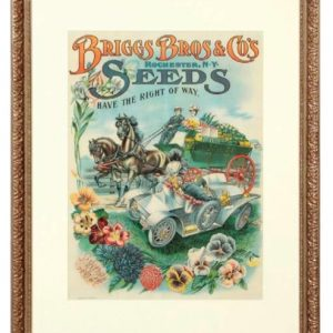 Briggs Bros. Seed Sign