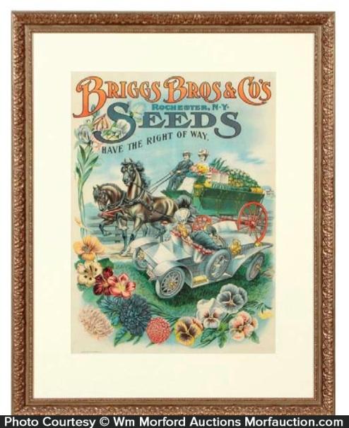 Briggs Bros. Seed Sign