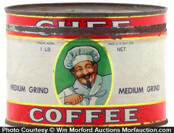 Chef Coffee Can