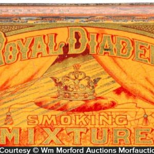 Royal Diadem Tobacco Tin