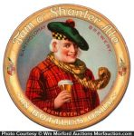 Tom O'shanter Ale Tip Tray