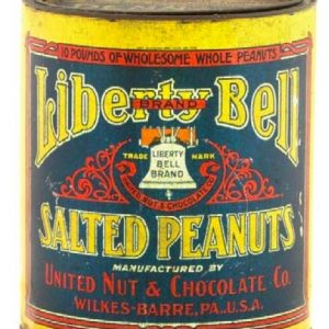 Liberty Bell Peanut Tin