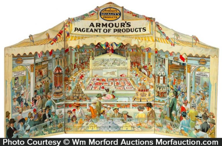 Armour's Pageant Of Products Store Display