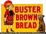 Buster Brown Bread Sign