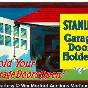 Stanley Garage Door Holders Sign