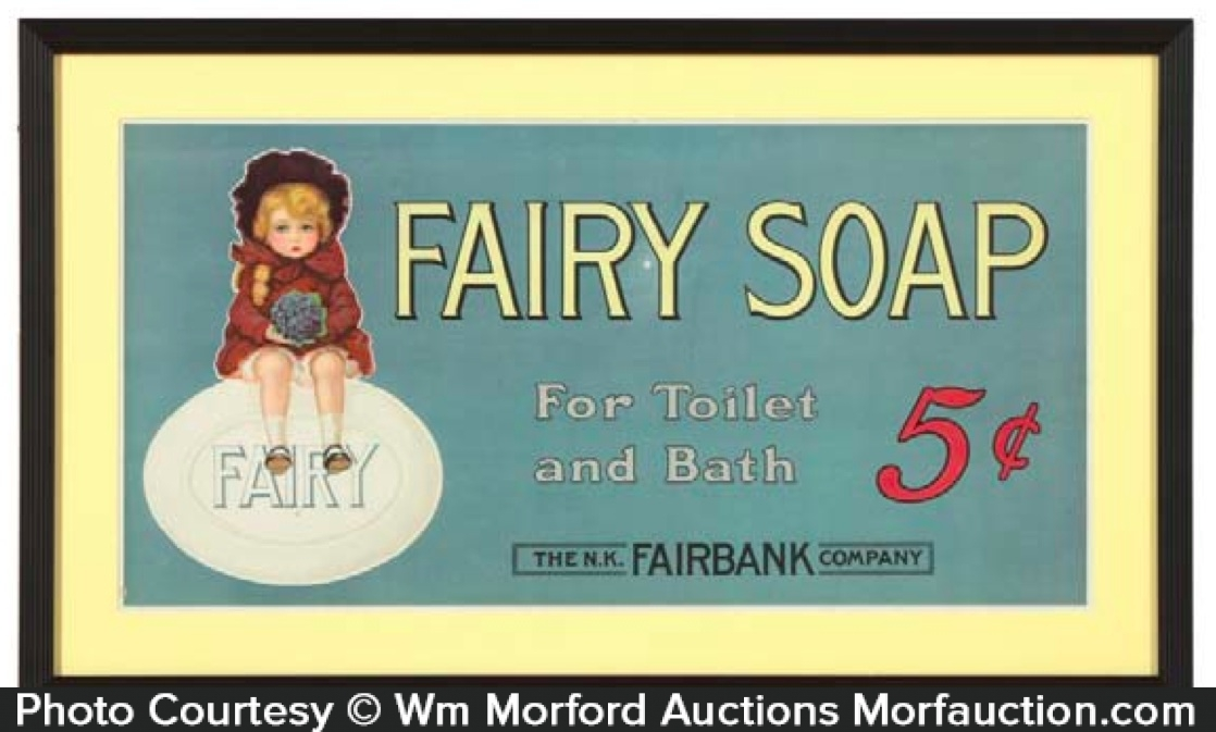 Fairy Soap Sign