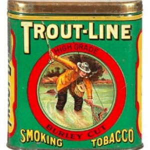 Trout Line Pocket Tobacco Tin