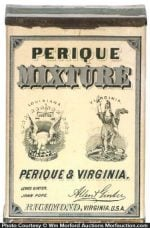 Perique Mixture Tobacco Tin