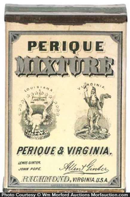 Perique Mixture Tobacco Tin