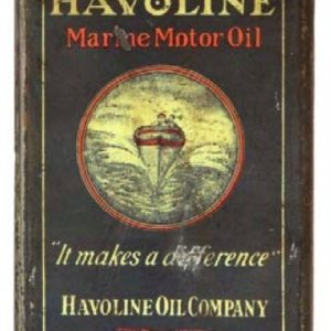 Havoline Marine Oil Can