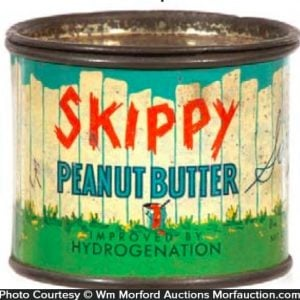 Skippy Peanut Butter Sample Tin