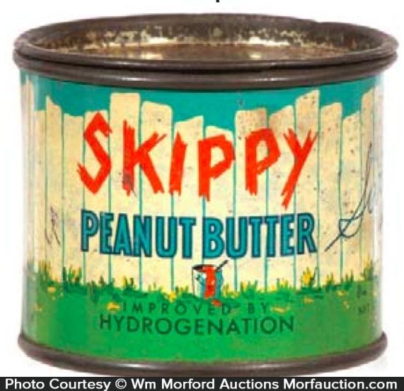 Skippy Peanut Butter Sample Tin