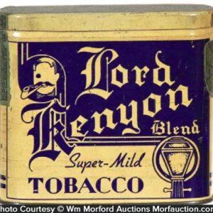 Lord Kenyon Tobacco Tin