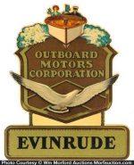 Evinrude Outboard Motors Decal