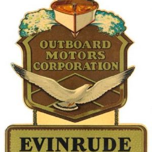 Evinrude Outboard Motors Decal