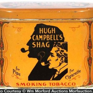 Hugh Campbell's Shag Tobacco Tin