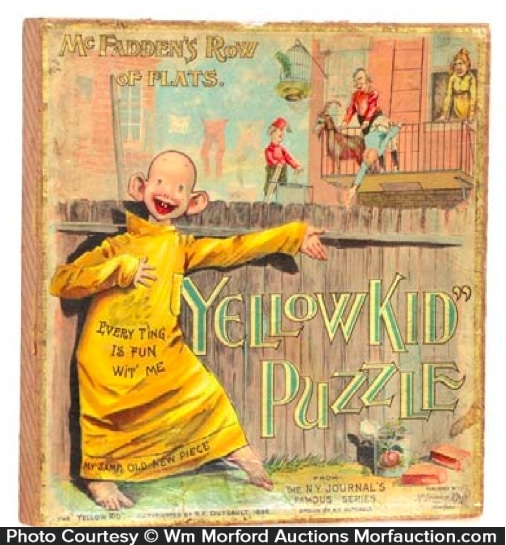 Yellow Kid Puzzle