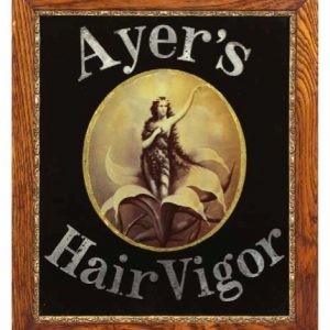 Ayer's Hair Vigor Sign