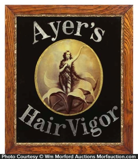 Ayer's Hair Vigor Sign