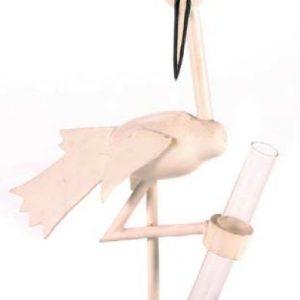 Stork Club Flower Vase