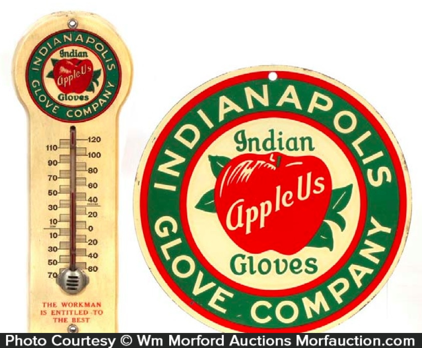 Indian Apple Us Gloves Sign