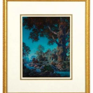 Maxfield Parrish Signed Morning Light