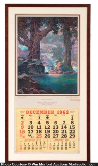 Maxfield Parrish Quiet Solitude Calendar