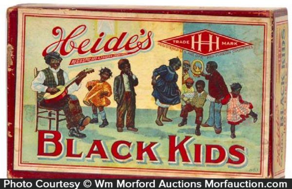 Black Kids Candy Box