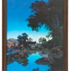 Maxfield Parrish Evening Shadows