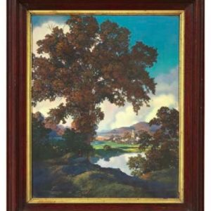 Maxfield Parrish Peaceful Valley Calendar Image