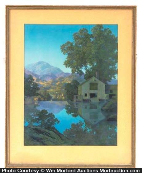 Maxfield Parrish Millpond Print
