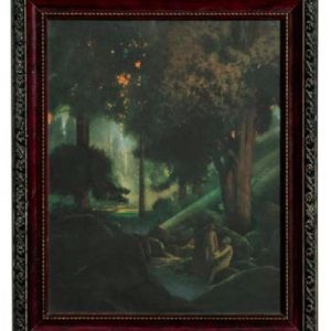 Maxfield Parrish Fountain Of Pirene Print