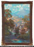 Maxfield Parrish Sunlit Valley