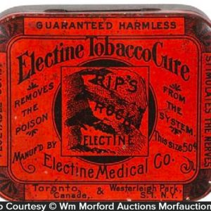 Electine Tobacco Cure Tin