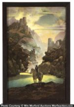 Maxfield Parrish Aucassin Seeks For Nicolette Print