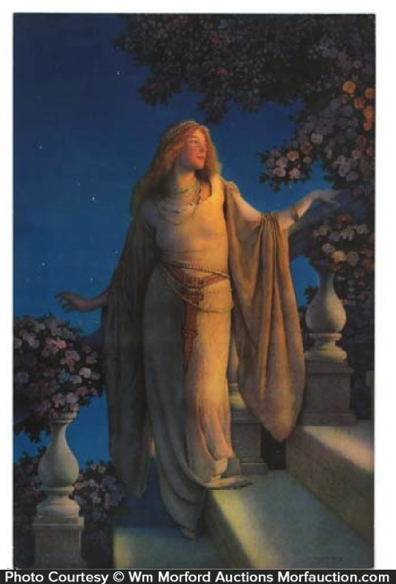 Maxfield Parrish Enchantment Calendar Image