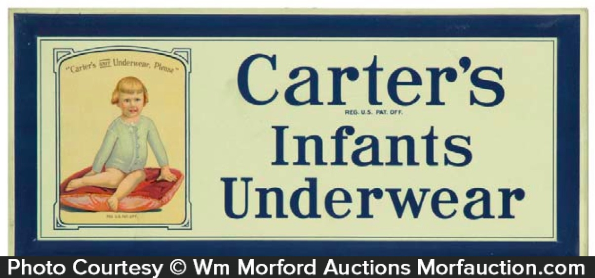 Carter's Infants Underwear Sign