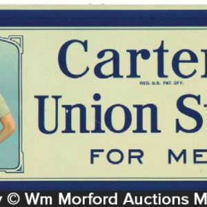 Carter's Union Suits Sign
