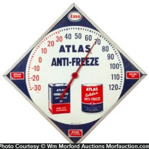 Esso Atlas Anti-Freeze Thermometer