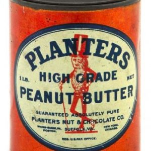 Planters Peanut Butter Tin