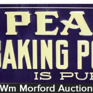 Pearl Baking Powder Sign