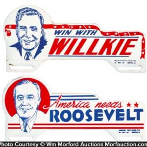 Political Bumper Tags
