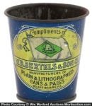Bertels Lithography Sample Cup